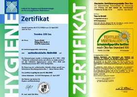MicroMed Zahnfinger Zertifikate