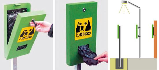Belloo Dogstation Hundekotentsorgung